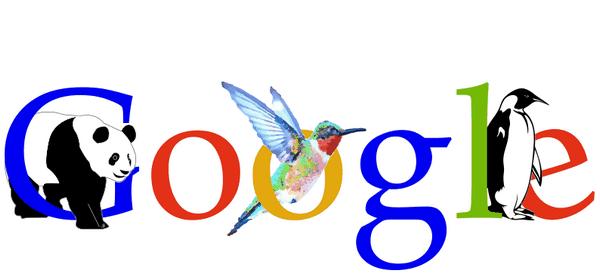 Алгоритмы работы  Google