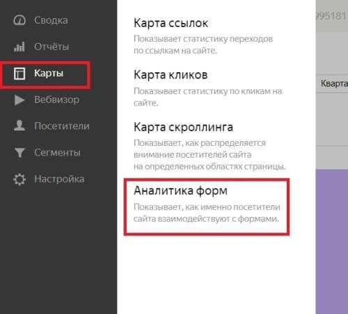 Аналитики форм в Яндекс. Метрике