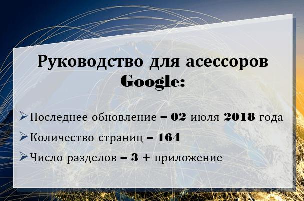 Руководство для асессоров Google 2018