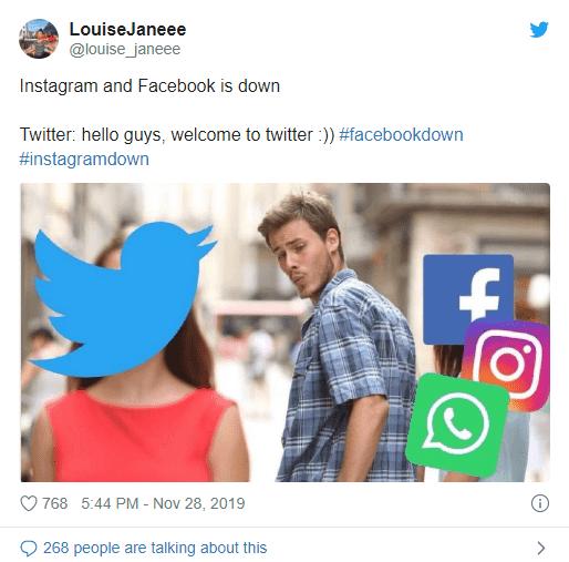 Инстаграм и Фейсбук не работают – всем привет в Твиттере