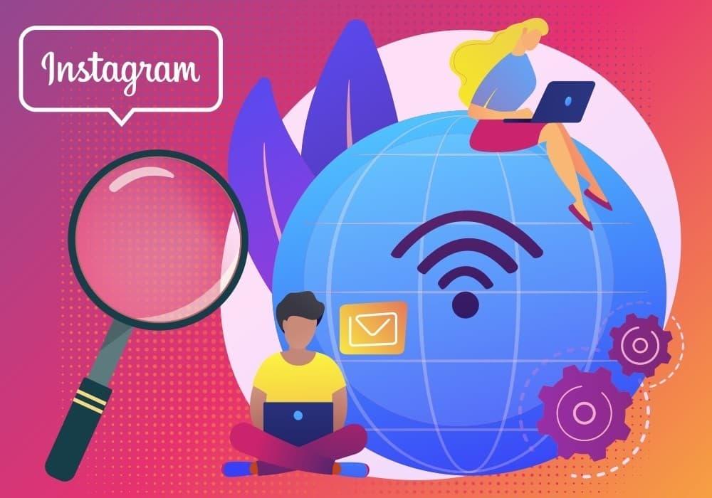 Поиск работы в Инстаграм
